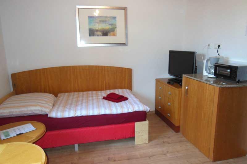 Boardinghouse Bett im Einzelzimmer
